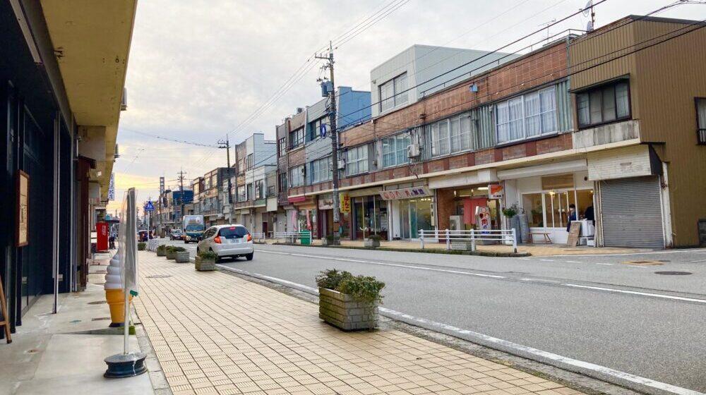 【中央通り商店街】